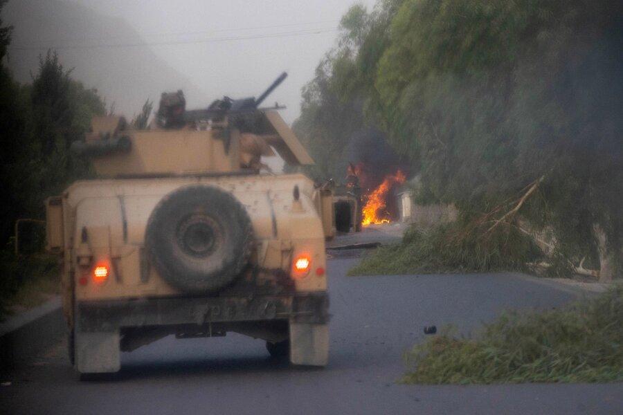 درگيري پليس محلي و طالبان در حوالي قندهار
