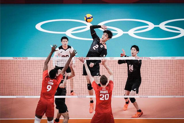 والیبال المپیک   پیروزی لهستان صدرنشین برابر ژاپن   صعود ۳ پله ای کانادا در جدول گروه ایران