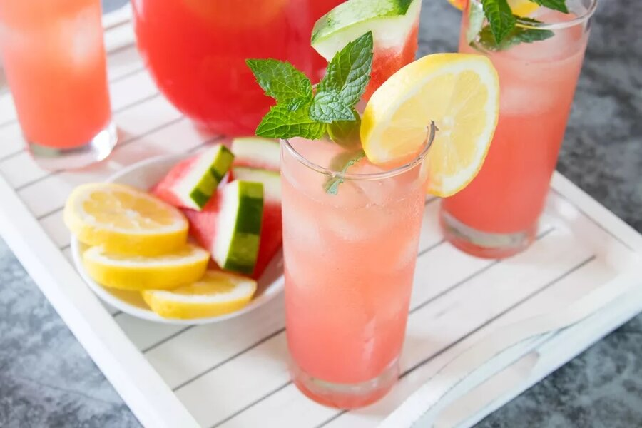 لیموناد هندوانه - Watermelon Lemonade