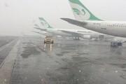 پروازهای فرودگاه مهرآباد به حالت عادی بازگشت