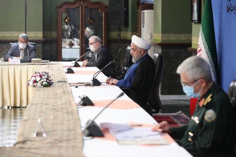 آخرین جلسه ستاد ملی کرونا در دولت روحانی | با همراهی رهبری از دوگانه علم و دین جلوگیری و به قولمان درباره واکسیناسیون عمل کردیم