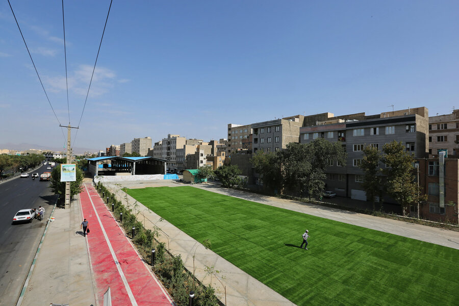 باغ راه حضرت زهرا (س)