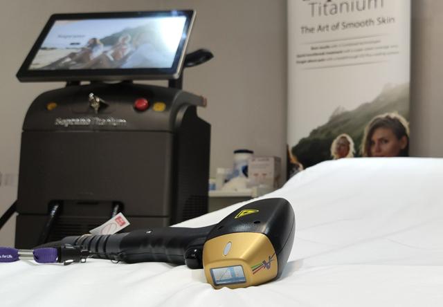 دستگاه لیزر تیتانیوم اصل ۲۰۲۱، فروش اقساطی