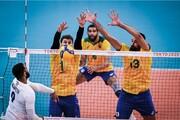 برزیل - فرانسه رکورد والیبال ایران با لهستان را زد!