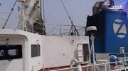 اولین تصاویر از کشتی اسرائیلی بعد از حمله در دریای عمان