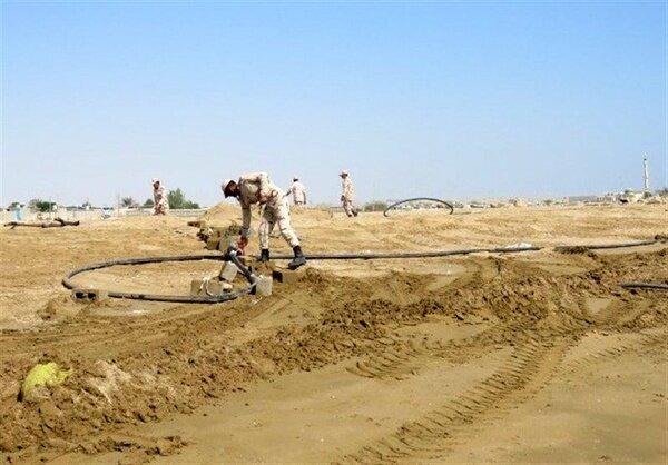 کشف ۲۰ هزار متر خط لوله انتقال سوخت قاچاق