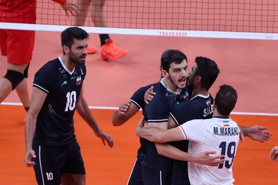 والیبال ایران و ژاپن
