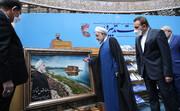 عکس | تقدیرنامه اعضای هیات دولت و رئیس سازمان صدا و سیما برای روحانی