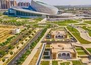 ظریف افتتاح مرکز همایشهای بینالمللی اصفهان را تبریک گفت