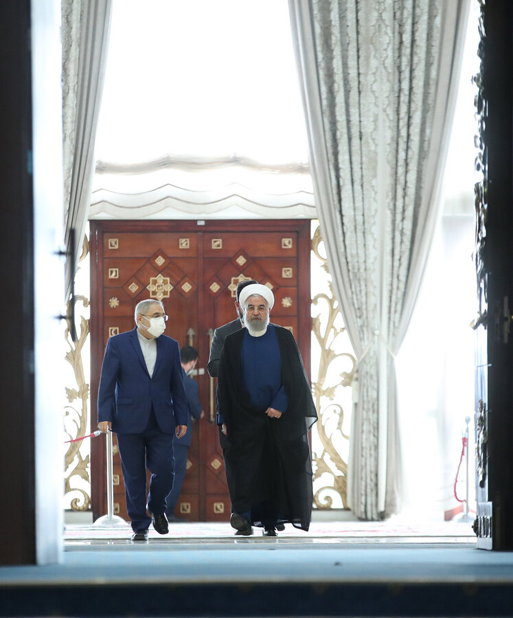 آخرین نشست روحانی و مدیران ارشد دولت