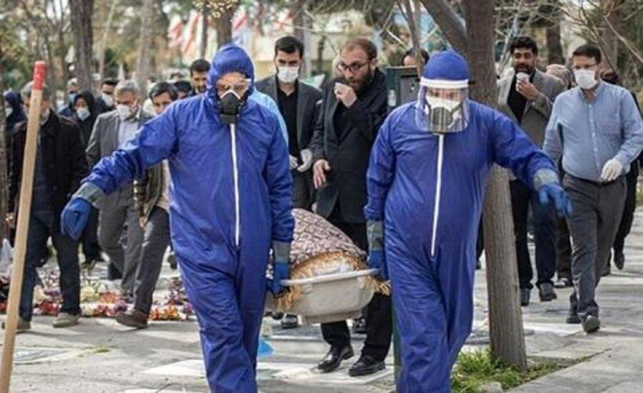 کرونا در ایران - مرگ - فوت