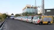 آماده باش نیروهای توزیع برق تهران در زمان برگزاری مراسم تنفیذ