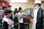 دیدار صمیمانه رئیسجمهور با کودکانکار مرکز یاسر