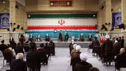 عکس | دختران امام خمینی (ره) در مراسم تنفیذ ابراهیم رئیسی