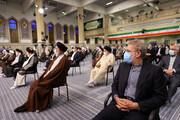 تکذیب غیبت علی لاریجانی در مراسم تنفیذ