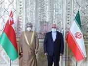 عکس | دیدار وزیر خارجه عمان با ظریف در تهران