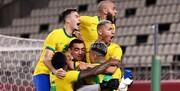صعود دراماتیک اسپانیا و برزیل به فینال فوتبال المپیک