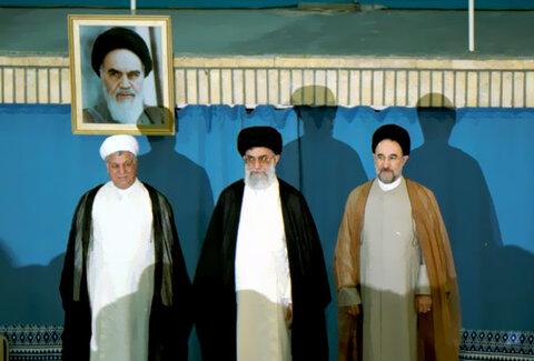 مراسم تنفیذ حکم ریاست جمهوری سید محمد خاتمی در سال 80