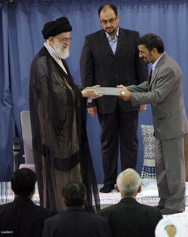 مراسم تنفیذ حکم ریاست جمهوری محمود احمدی نژاد در سال 88