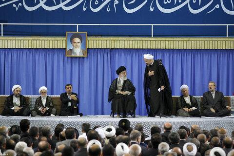مراسم تنفیذ حکم ریاست جمهوری حسن روحانی در سال 92