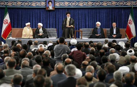 مراسم تنفیذ حکم ریاست جمهوری حسن روحانی در سال 96