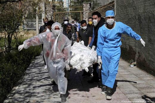 کرونا در ایران ـ مرگ ـ فوت