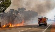 مهار آتش جنگلهای فیروزآباد فارس پس از ۳ روز