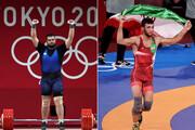 شیرینترین روز ایران در المپیک | طلای گرایی و نقره داوودی چسبید