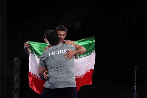 مدال طلای ایران در کشتی فرنگی