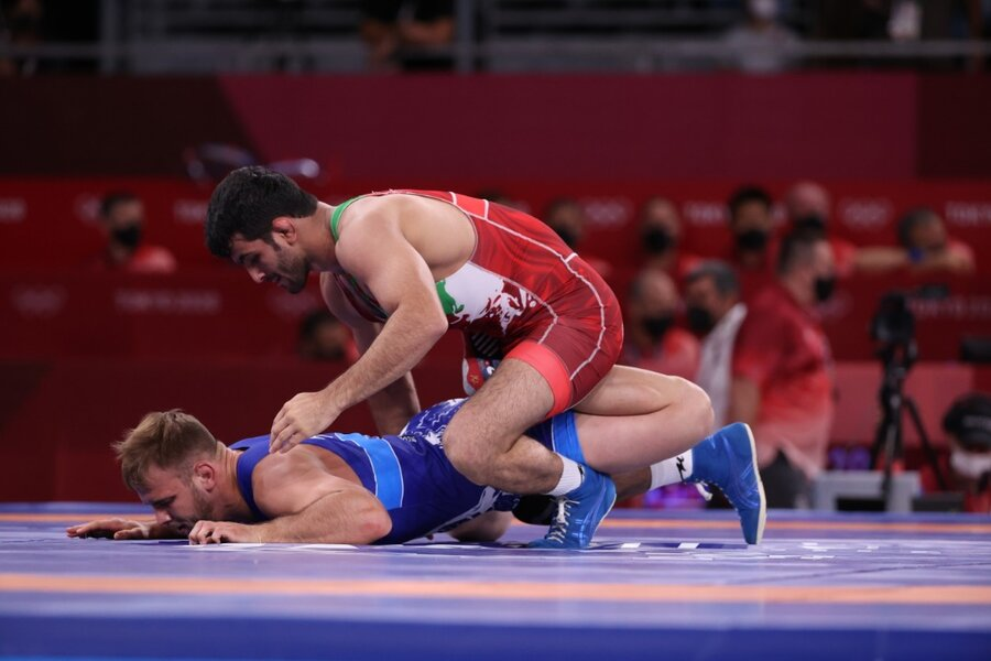 کشتی آزاد المپیک توکیو؛ مصاف ایران و آمریکا بر سر ۲ مدال