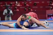 پیروزی کشتی گیر سنگین وزن ایران مقابل حریف اوکراینی در نخستین گام