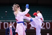 المپیک توکیو؛ پیروزی سارا بهمنیار مقابل قهرمان جهان
