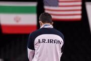 واکنش یزدانی پس از کسب نقره المپیک توکیو