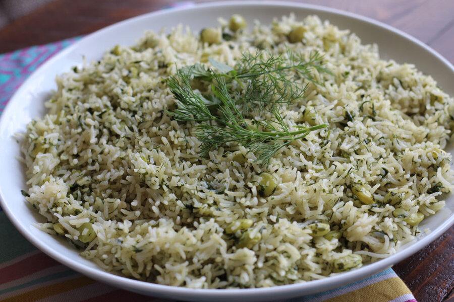 طرز تهیه شوید پلو   چند نکته طلایی برای خوشطعم شدن این غذای ایرانی