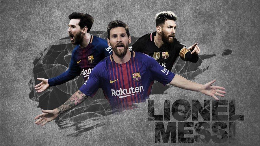 لیونل مسی از بارسلونا جدا شد