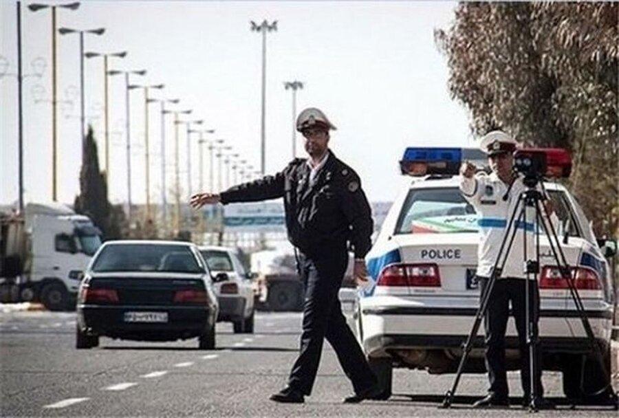 پلیس راه - محدودیت سفر