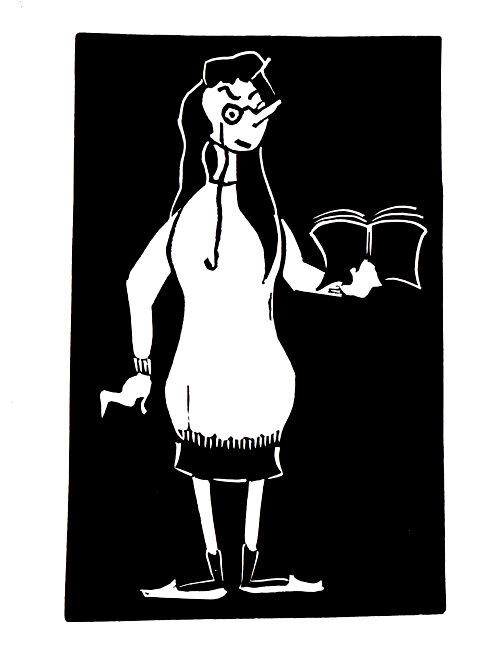 نویسندهای که طاووس، شترمرغ و کارتون دوست داشت