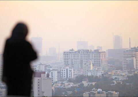 وقوع گرد و غبار شدید در تهران تا ساعتی دیگر | وضعیت خطرناک هوای منطقه ١٩