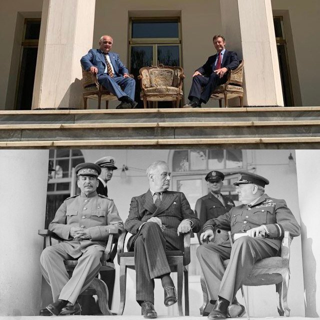 عکس| انتقاد تند ظریف از عکس توهینآمیز سفیران روسیه و انگلیس