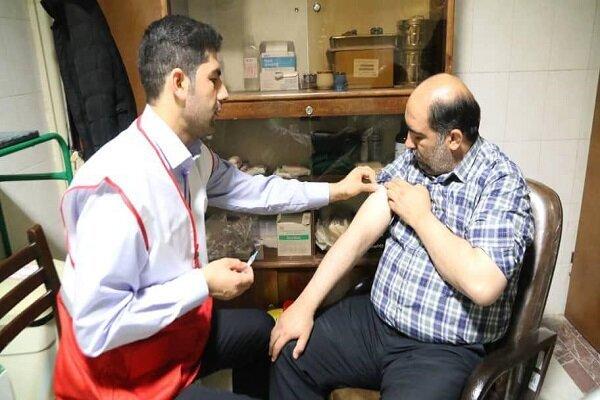 واکسیناسیون کرونا - هلال احمر