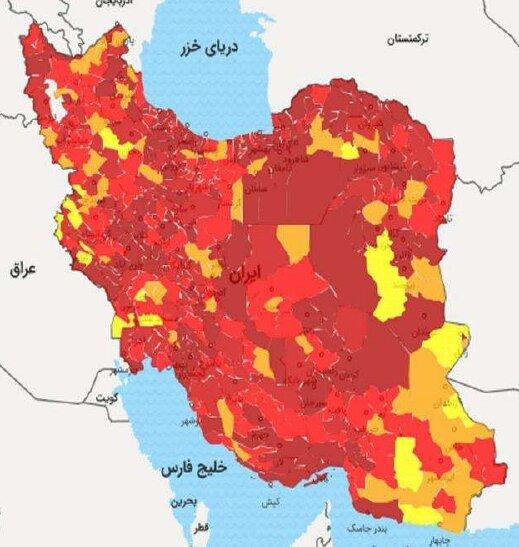 افزایش ۴۱ درصدی مرگهای کرونایی در ایران