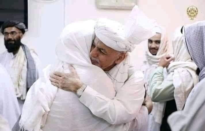 اشرف غنی طالبان