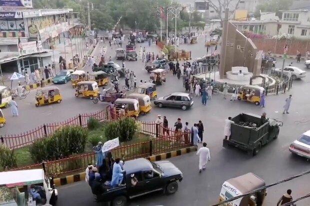 ویدئو | ترافیک سنگین در کابل در آستانه تسلیم قدرت به طالبان