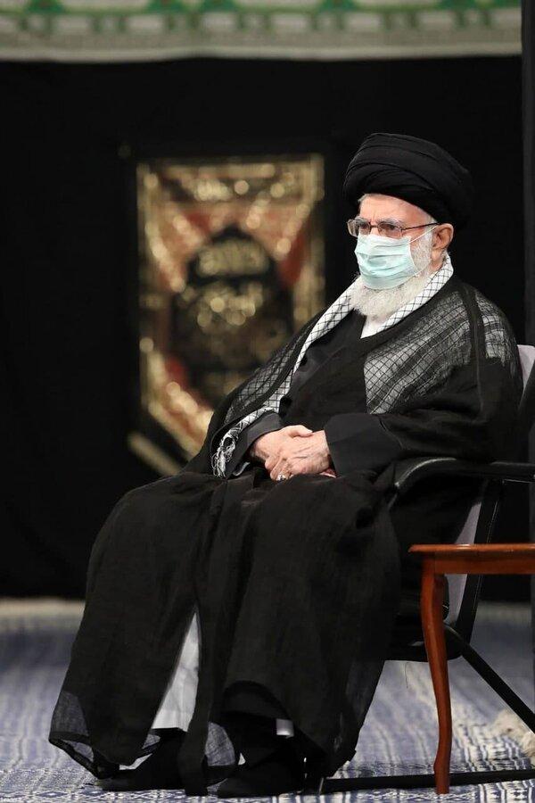 تصاویر | نخستین شب عزاداری ایام محرم در حضور مقام معظم رهبری