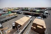 از سرگیری مراودات تجاری با عراق در مرز شلمچه و چذابه