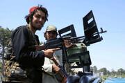 ویدئو| خودنمایی اعضای طالبان با تجهیزات نظامی آمریکا