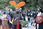 اجرای ویژه برنامه «تعزیت خورشید» در بوستانها