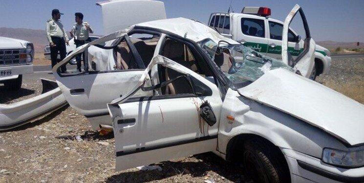 تصادف مرگبار ۳ خودرو در کرمان   ۴ نفر کشته و ۱۱ نفر مصدوم شدند