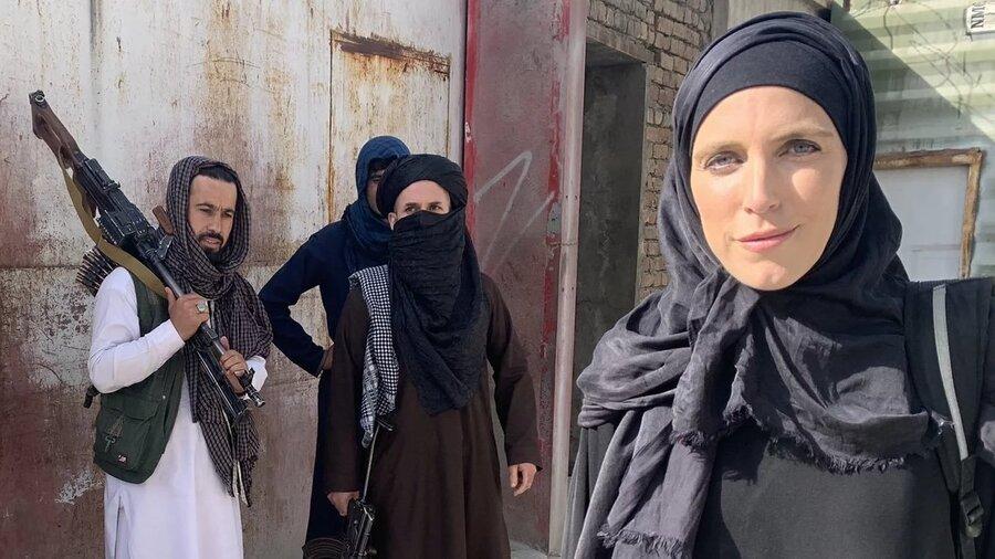تجربه یک خبرنگار زن از طالبان | مردم افغانستان خسته شده بودند