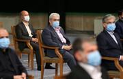عکس | حضور معاون روحانی در دیدار هیات دولت سیزدهم با رهبر معظم انقلاب